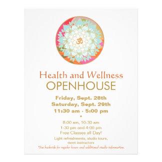 LotosMandalagesundheits-und Wellness-Flyer