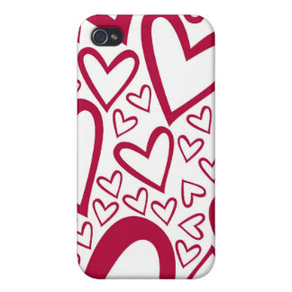 Lotsa Liebe-roter Kasten iPhone4 iPhone 4 Cover