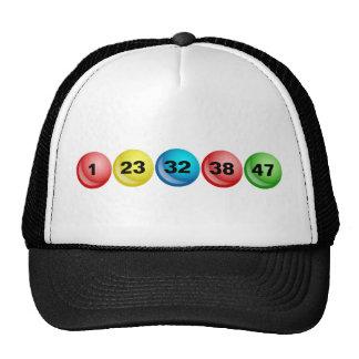 Lotterie-Bälle, 1, 23, 32, 38, 47 Trucker Kappe