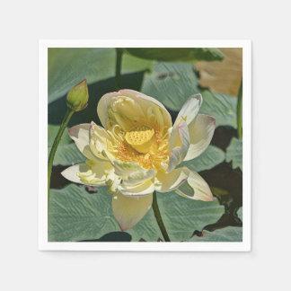 Lotus-Blüte Papierservietten