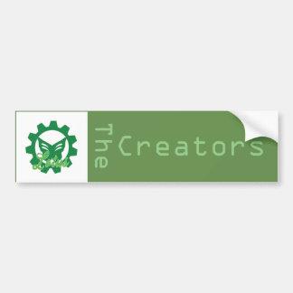Lotus: Der Schöpfer-Autoaufkleber Autoaufkleber