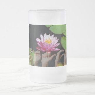 Lotus + Frieden ASL Mattglas Bierglas