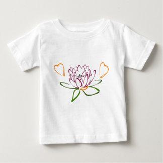 Lotus-Herz Baby T-shirt