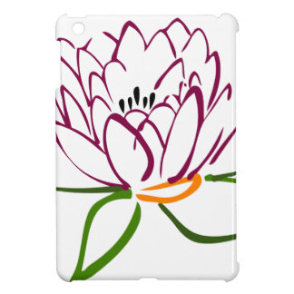 Lotus-Herz iPad Mini Hülle
