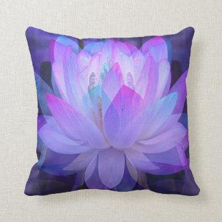 Lotus im Blau… Kissen