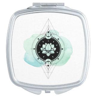*~* Lotus-Mond spielt heilige Geometrie die Schminkspiegel
