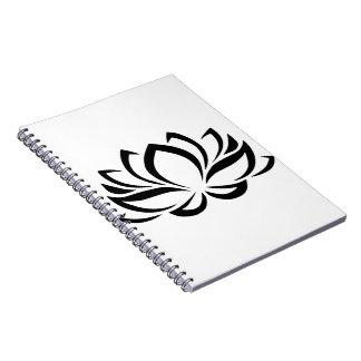 Lotus-Notizbuch Notizblock