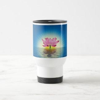 Lotus-Reflexion Reisebecher