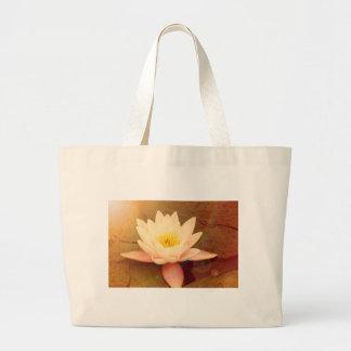 Lotus Jumbo Stoffbeutel