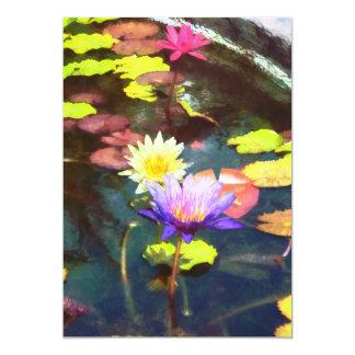 Lotus-Teich Karte
