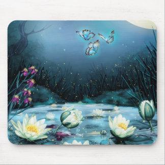 Lotus-Teich-Mausunterlage Mousepad