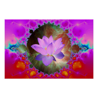 Lotus von Orion Poster