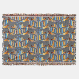 Lotus-Yoga-Decke Decke