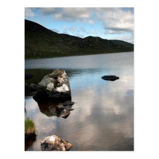 Lough Easky, Thema Sligos, Irland Postkarte