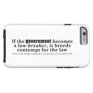 Louis D. Brandeis Olmstead V Vereinigte Staaten Tough iPhone 6 Hülle