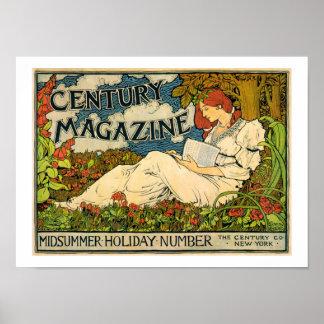 Louis John Rhead-Jahrhundert Zeitschrift Poster