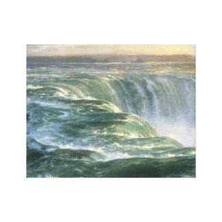 Louis Remy Mignot - Niagara Leinwanddruck