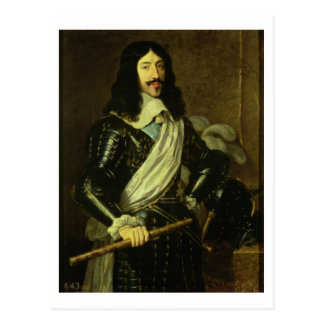 Louis XIII (1601-43) (Öl auf Leinwand) Postkarte