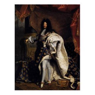 Louis XIV Postkarte