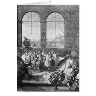Louis XIV und sein Gefolge-Besuchen Karte