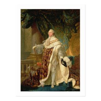 Louis XVI (1754-93) (Öl auf Leinwand) Postkarte