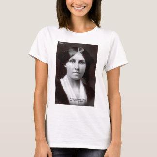 Louisa kann Alcott 2 Feuerstein-Liebe-Zitat-Karten T-Shirt