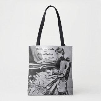 Louisa kann Alcott, das in Buchphotographie Tasche
