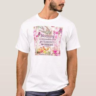 Louisa kann Alcott FRAUEN-Zitat T-Shirt