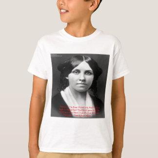 """Louisa kann Alcott """"Geld-schlechte"""" T-Shirt"""