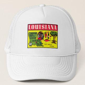 Louisiana-50er Vintage Retro Truckerkappe