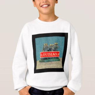 Louisiana-Alligatoren, die 1.jpg malen Sweatshirt