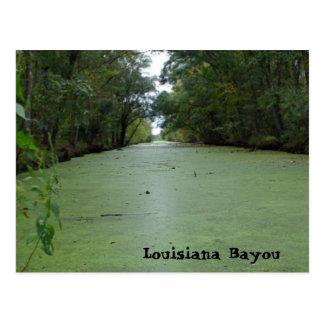 Louisiana-Bayou Postkarte
