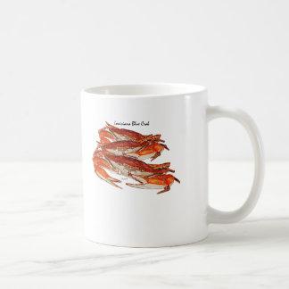 Louisiana kochte blaue Krabben Kaffeetasse