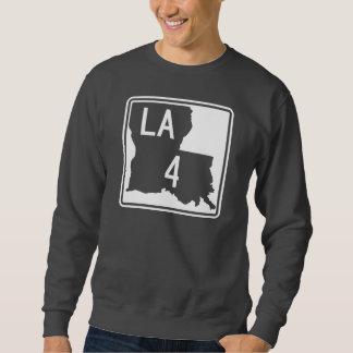 Louisiana-Landstraße 4 Sweatshirt