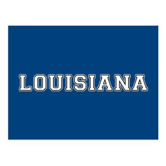 Louisiana Postkarte