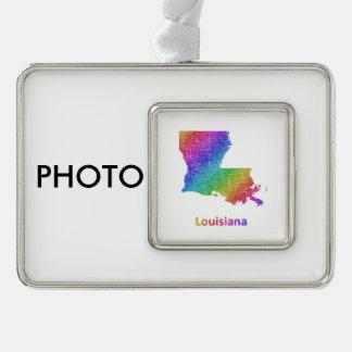 Louisiana Rahmen-Ornament Silber