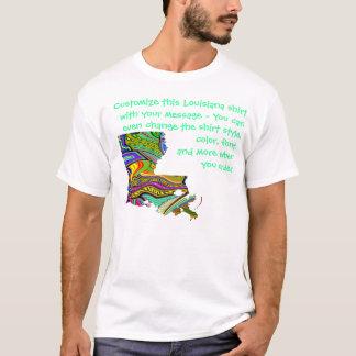 Louisiana-Shirt - Gewohnheit mit Wahl oder anderem T-Shirt