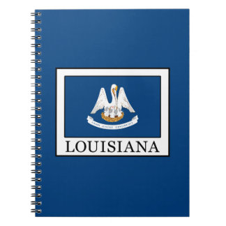 Louisiana Spiral Notizblock