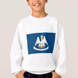 Louisiana-Staats-Flagge Sweatshirt