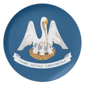 Louisiana-Staats-Flagge Teller
