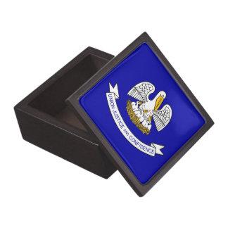 Louisiana-Staats-Flaggen-Prämien-Geschenkboxen Kiste