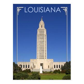 Louisiana-Staats-Hauptstadts-Gebäude, Baton-Rouge Postkarte