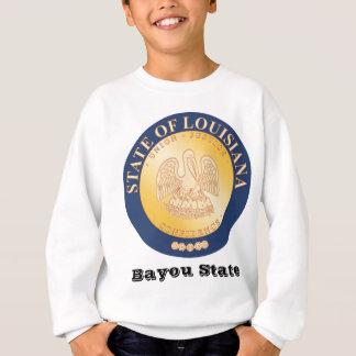 Louisiana-Staats-Siegel und Motto Sweatshirt