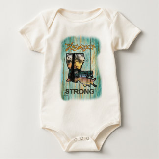 Louisiana stark baby strampler