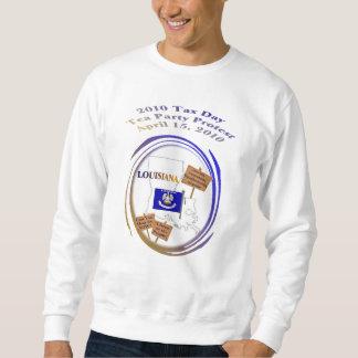 Louisiana-Steuer-Tagestee-Party-Protest-Sweatshirt Sweatshirt
