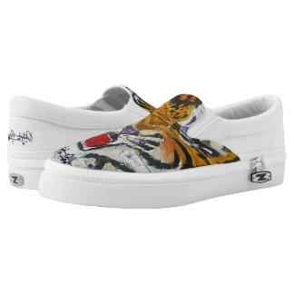 Louisiana-Tiger-Streifen Slip-On Sneaker