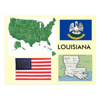 Louisiana, USA Postkarte