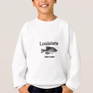 Louisiana weißer Crappie Sweatshirt