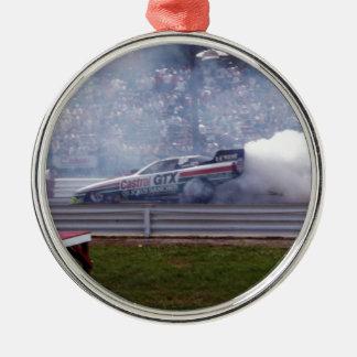 Louisiana-Widerstand-Laufen Silbernes Ornament