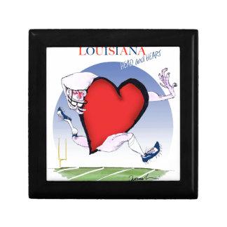 Louisianahauptherz, tony fernandes schmuckschachtel